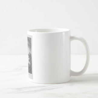Profiles in large Ionic order forming the upper Classic White Coffee Mug