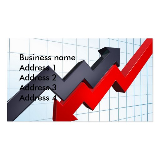 profit and loss business card