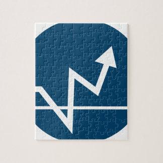 Profit Arrow Icon Jigsaw Puzzle