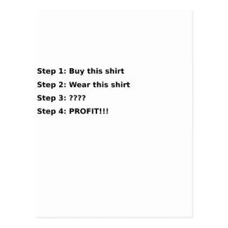 Profit Postcard