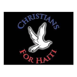 Profit to - Christians for haiti Postcard