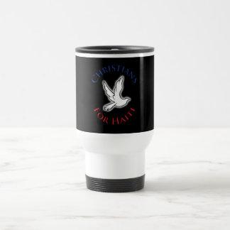 Profit to - Christians for haiti Travel Mug