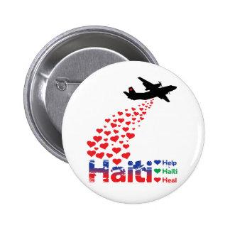 Profit to - Haiti Air Drop - Round Button