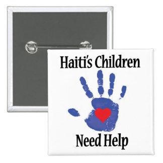 Profit to - Haiti's Children Need Help Pinback Button