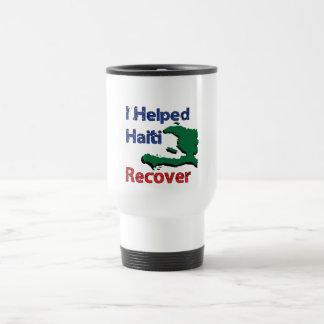 Profit to - I Helped Haiti Travel Mug