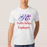 Profits before Employees, GE Dresses