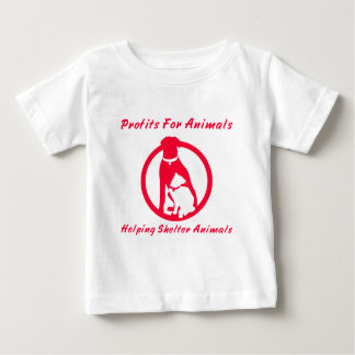 Profits For Animals Baby T-Shirt