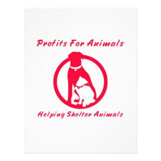 Profits For Animals Flyers
