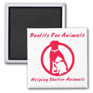 Profits For Animals Magnet