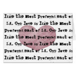 Profound Love Greeting Card