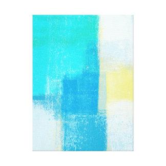 """""""Profundamente"""" arte abstracto de la turquesa"""