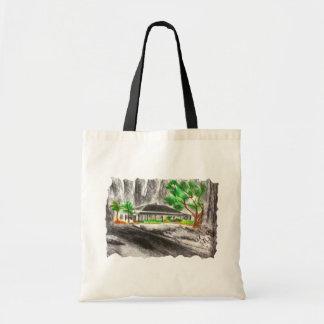 Profundamente en el bosque bolsa tela barata