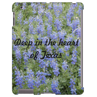 """""""Profundamente en el corazón caso del iPad del blu"""