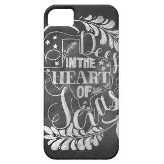 Profundamente en el corazón de Tejas iPhone 5 Case-Mate Cárcasas