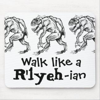 Profundamente uno - Paseo como un R'lyeh-ian - coj Tapetes De Ratones