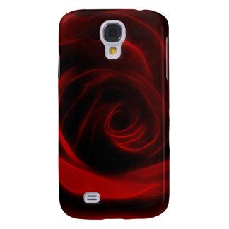 Profundidad del rosa rojo del amor