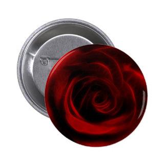 Profundidad del rosa rojo del amor pin