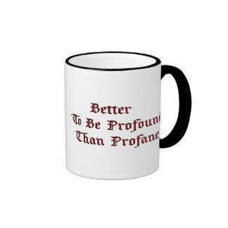 Profundo Profane (el príncipe valeroso) Taza De Café