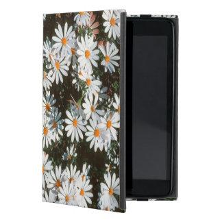 Profusión de las tarimas blancas (Asteraceae) iPad Mini Protectores