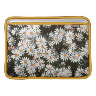 Profusion Of White Daises (Asteraceae) MacBook Sleeves