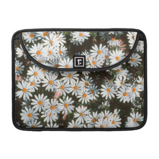 Profusion Of White Daises (Asteraceae) Sleeve For MacBooks