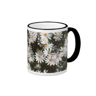 Profusion Of White Daises (Asteraceae) Mugs