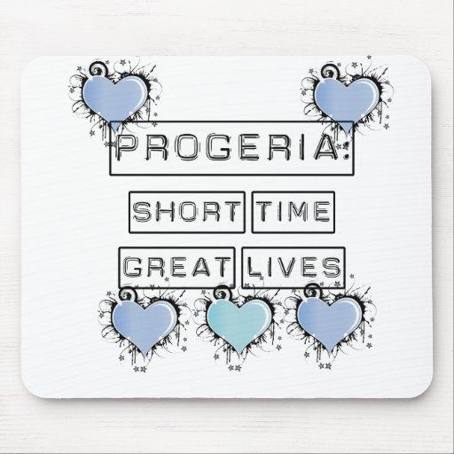 Progeria: Breve periodo de tiempo, grandes vidas,  Alfombrilla De Ratón