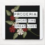 Progeria: Breve periodo de tiempo, grandes vidas,  Alfombrilla De Raton