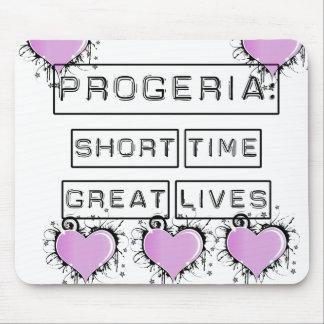 Progeria: Grandes vidas del breve periodo de tiemp Tapete De Ratón