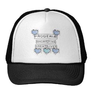 Progeria: Short Time, Great Lives, Blue Hearts Trucker Hat