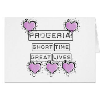 Progeria: Short Time Great Lives, Purple hearts Cards