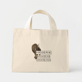 Progeria: Short Time Great Lives, with Lion Tote Bags