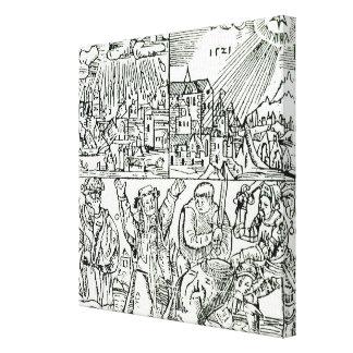 Prognostications, 1521 canvas print