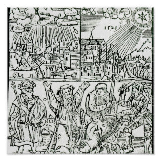 Prognostications, 1521 poster