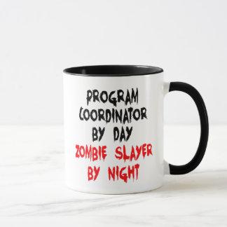 Program Coordinator Zombie Slayer Mug