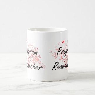 Program Researcher Artistic Job Design with Butter Coffee Mug