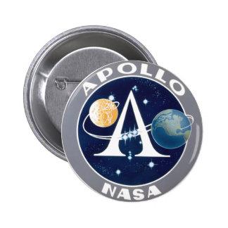 Programa Apollo Pin Redondo 5 Cm