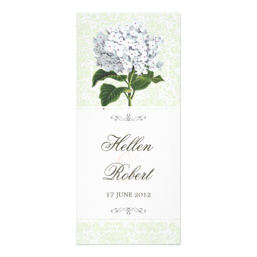 Programa blanco de la ceremonia de boda del plantilla de lona
