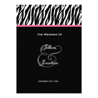 Programa blanco y negro V2 del boda de la cebra Comunicado
