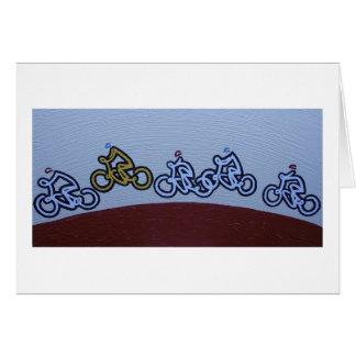 Programa de carreras del ciclo del Peloton Felicitacion