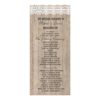 Programa de encargo de madera del granero viejo lona personalizada