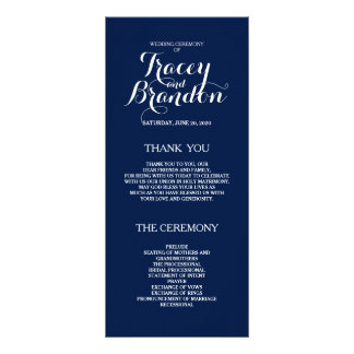 Programa de encargo simple elegante del boda lona publicitaria