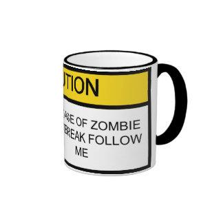 Programa de la aniquilación del zombi taza
