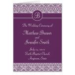 Programa de la ceremonia de boda y orden de la tar felicitaciones