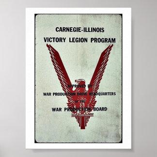 Programa de la legión de la victoria de Carnegie-I Poster