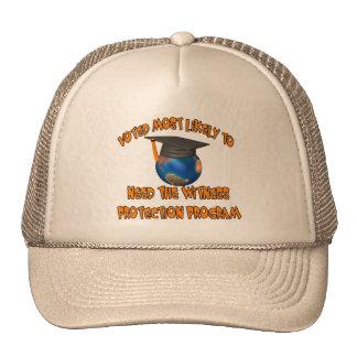 Programa de la protección del testigo gorras