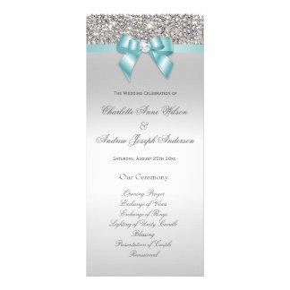 Programa de plata del boda del arco del trullo de plantilla de lona