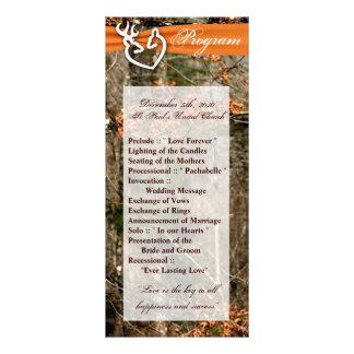 programa del boda 25 4x9 que caza el dólar Camo de Lonas Personalizadas