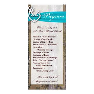 programa del boda 25 4x9 que caza el dólar Camo de Tarjeta Publicitaria Personalizada