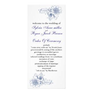 programa del boda de la marina de guerra lona personalizada